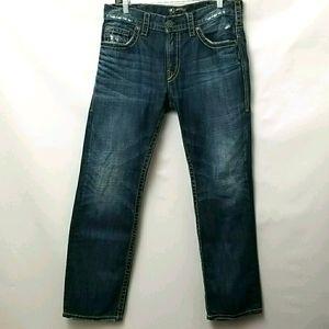Silver Allen Jeans Mens Size 33
